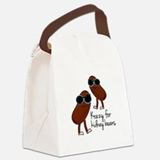 Kidney Beans Canvas Lunch Bag