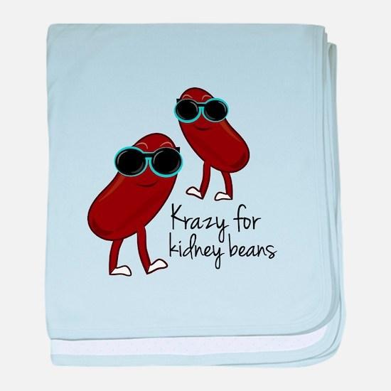 Kidney Beans baby blanket