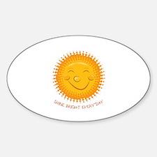Shine Bright Decal