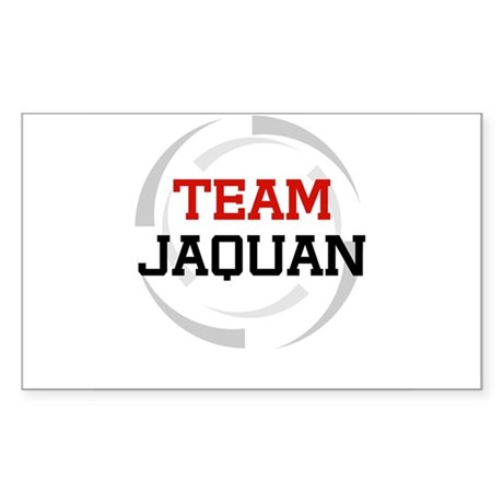 Jaquan Rectangle Sticker