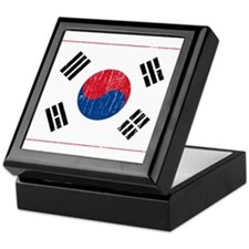 Vintage South Korea Keepsake Box