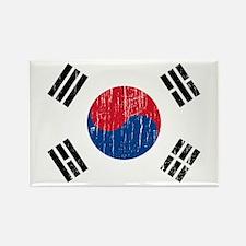 Vintage South Korea Rectangle Magnet