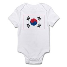 Vintage South Korea Infant Bodysuit