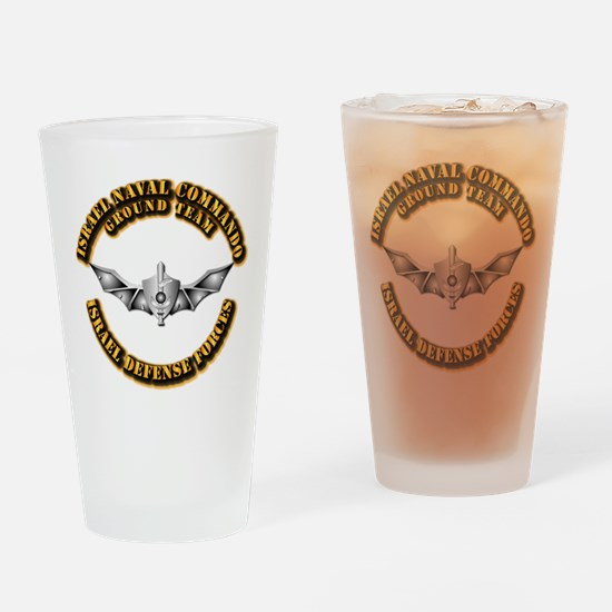 Israel Naval Commando Ground Team Drinking Glass
