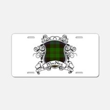 MacNeil Tartan Shield Aluminum License Plate