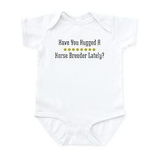 Hugged Horse Breeder Infant Bodysuit