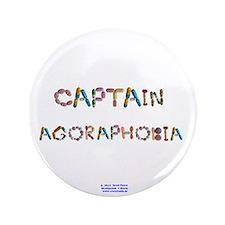 """Captain Agoraphobia Button 3.5"""" Button"""