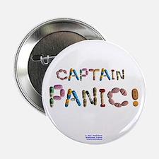 """Captain Panic! Button 2.25"""" Button"""