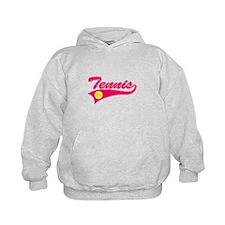 Pink Tennis Hoodie