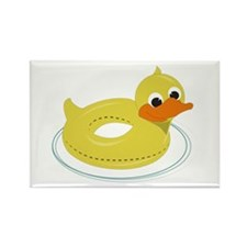 Duck Pool Toy Magnets