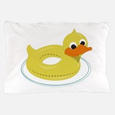 Duck Pool Toy Pillow Case