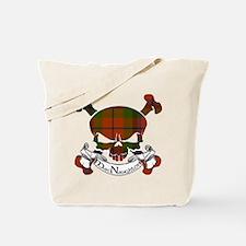 MacNaughton Tartan Skull Tote Bag
