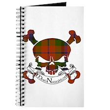 MacNaughton Tartan Skull Journal