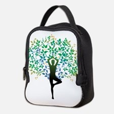 Yoga Tree Pose New Neoprene Lunch Bag
