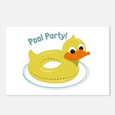 Pool Party Postcards (Package of 8)
