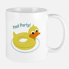 Pool Party Mugs