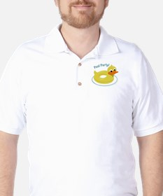 Pool Party Golf Shirt