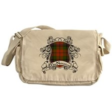 MacNaughton Tartan Shield Messenger Bag