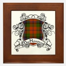 MacNaughton Tartan Shield Framed Tile