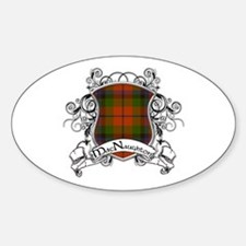 MacNaughton Tartan Shield Decal