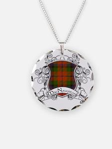 MacNaughton Tartan Shield Necklace