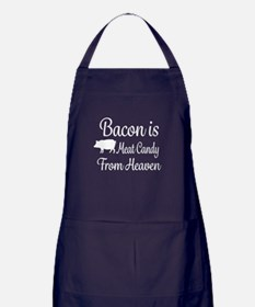 Bacon is Meat Candy from Heaven Apron (dark)