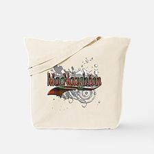 MacNaughton Tartan Grunge Tote Bag