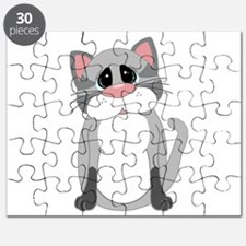 Cute Gray Cat Puzzle
