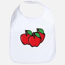 Apples Bib