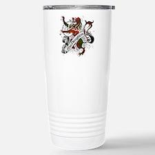 MacNaughton Tartan Lion Travel Mug