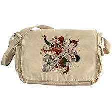 MacNaughton Tartan Lion Messenger Bag