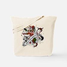 MacNaughton Tartan Lion Tote Bag