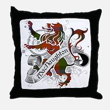 MacNaughton Tartan Lion Throw Pillow