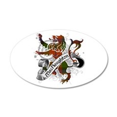 MacNaughton Tartan Lion Wall Decal