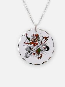 MacNaughton Tartan Lion Necklace