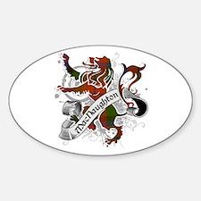 MacNaughton Tartan Lion Decal