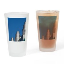 New Town Drinking Glass