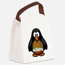 MacNaughton Tartan Penguin Canvas Lunch Bag