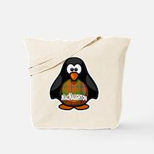 MacNaughton Tartan Penguin Tote Bag