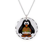 MacNaughton Tartan Penguin Necklace