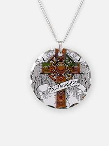 MacNaughton Tartan Cross Necklace