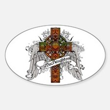 MacNaughton Tartan Cross Decal
