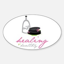 Healing & Healthy Decal
