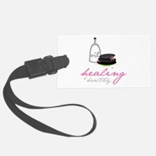 Healing & Healthy Luggage Tag