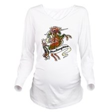 MacNaughton Unicorn Long Sleeve Maternity T-Shirt