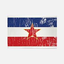 Vintage Yugoslavia Rectangle Magnet