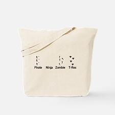 Footprint Guide Tote Bag