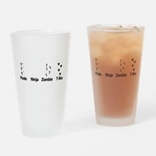 Footprint Guide Drinking Glass