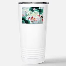 Koi fish Stainless Steel Travel Mug