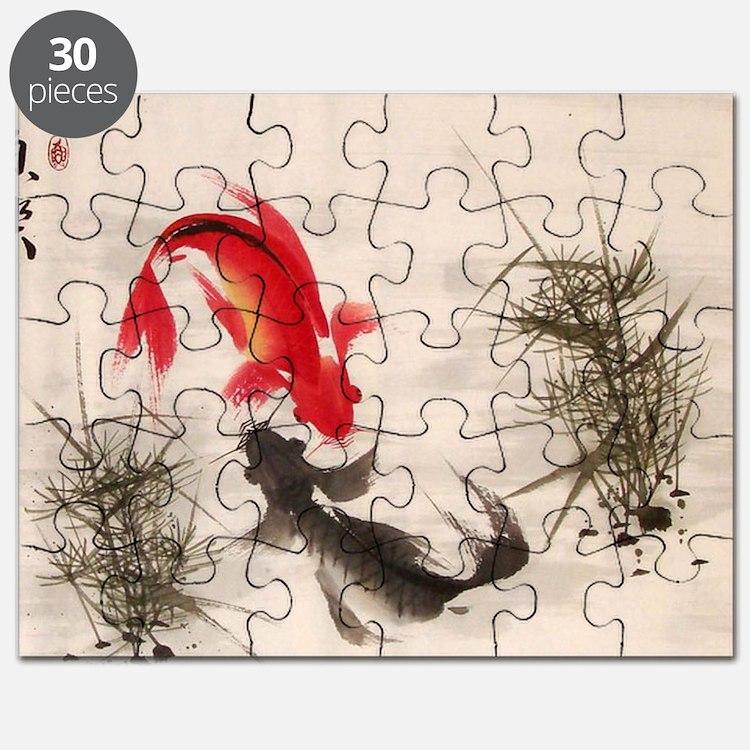 Koi fish Puzzle